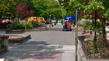 Columpios actuales en Aranzabal (Google Maps)