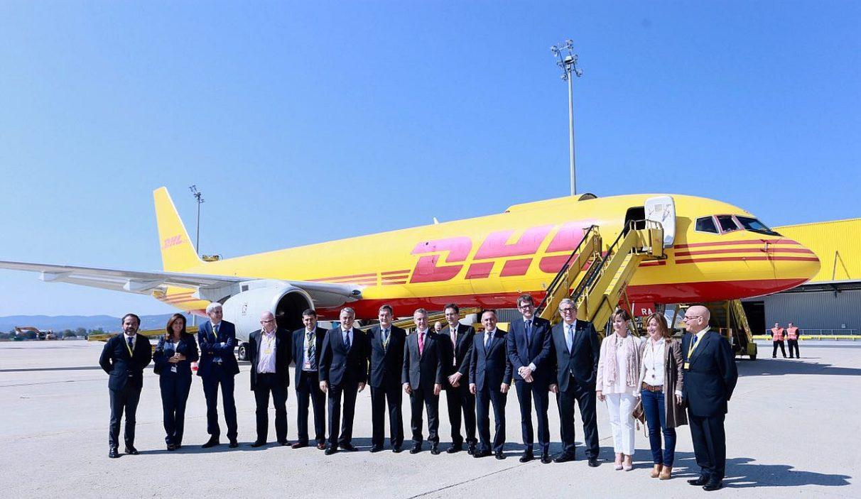 DHL inaugura sus instalaciones, que permitirán procesar 18.000 paquetes por hora