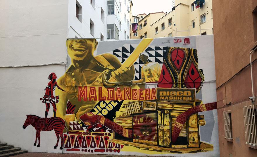 maldanbera mural coronacion