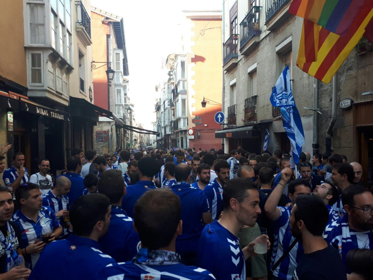 Afición alaves real