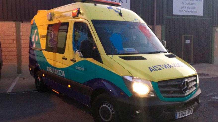 ambulancia larrialdiak ataque