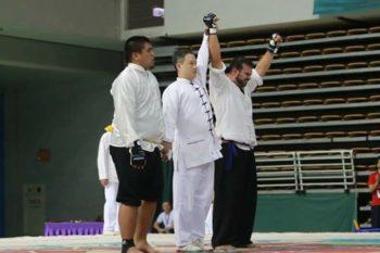 La última gesta de Manu Pereira; campeón del mundo de lei tai
