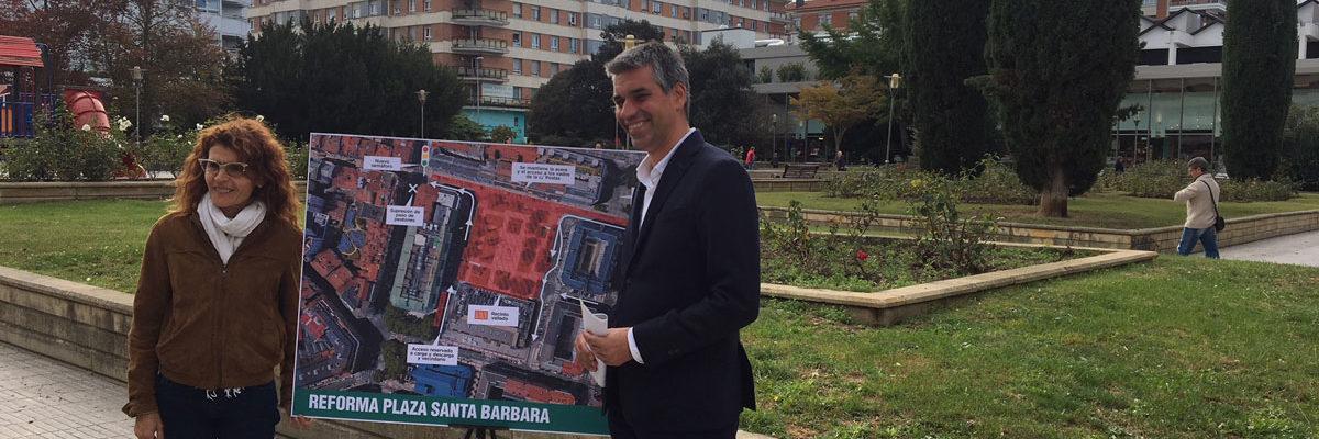 Las obras de Santa Bárbara arrancan el miércoles con el vallado y un nuevo semáforo