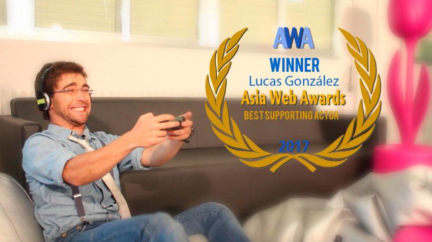 Una webserie vitoriana gana el premio al mejor actor de reparto en los Asia Web Awards