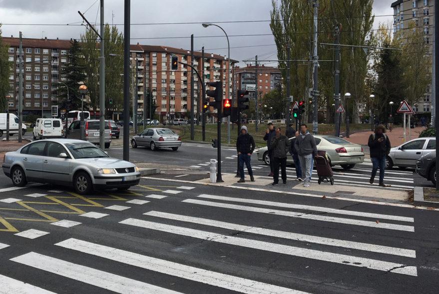 rotonda america latina semaforo