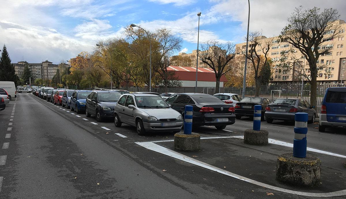 aparcamiento pauoa montal sansomendi