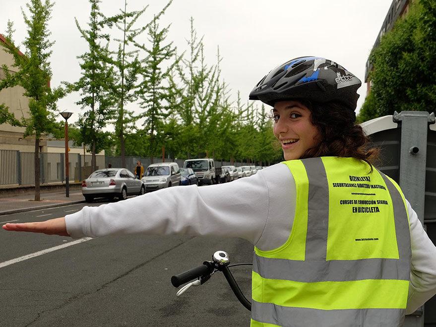 curso conducir bicicleta vitoria