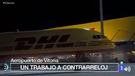 VÍDEO: Así se trabaja de noche en el Aeropuerto de Foronda