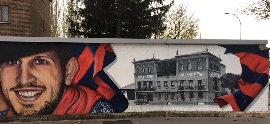 grafiti baskonia antonia