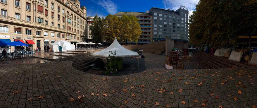 Plaza de los Fueros: ¿símbolo de la ciudad o socavón poco funcional?