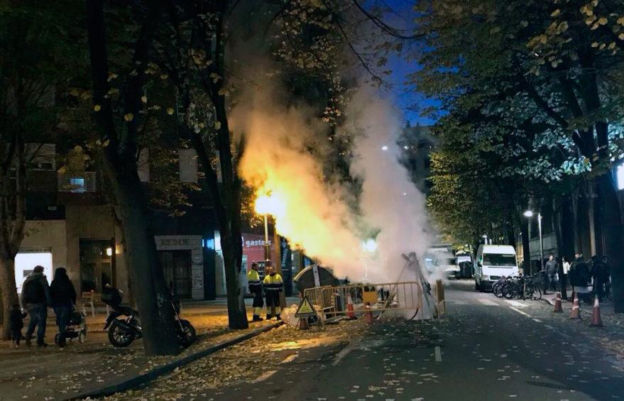 vapor humo monseñor estenaga tuberias sin zanja