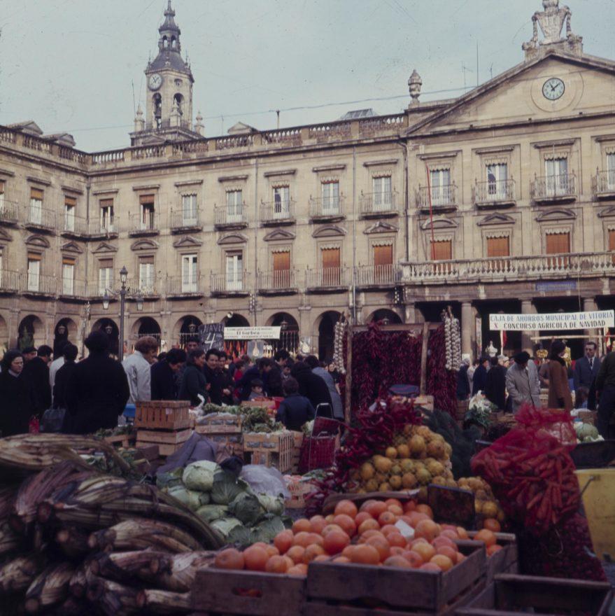 Plaza Nueva mercado navidad