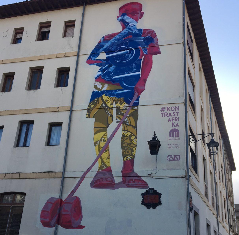 Mural fillin kontrastafrika