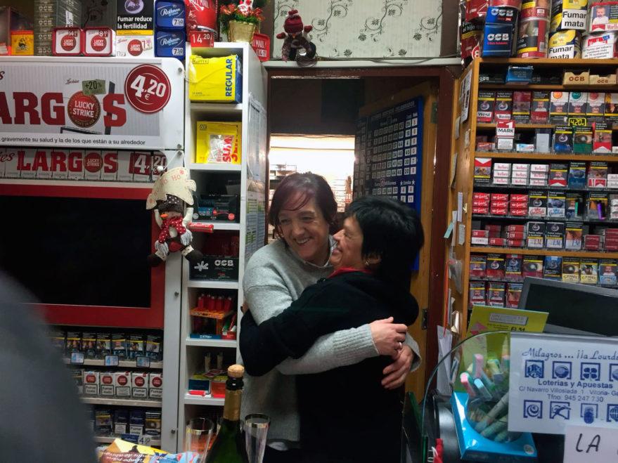 Loteria de Navidad segundo premio Vitoria