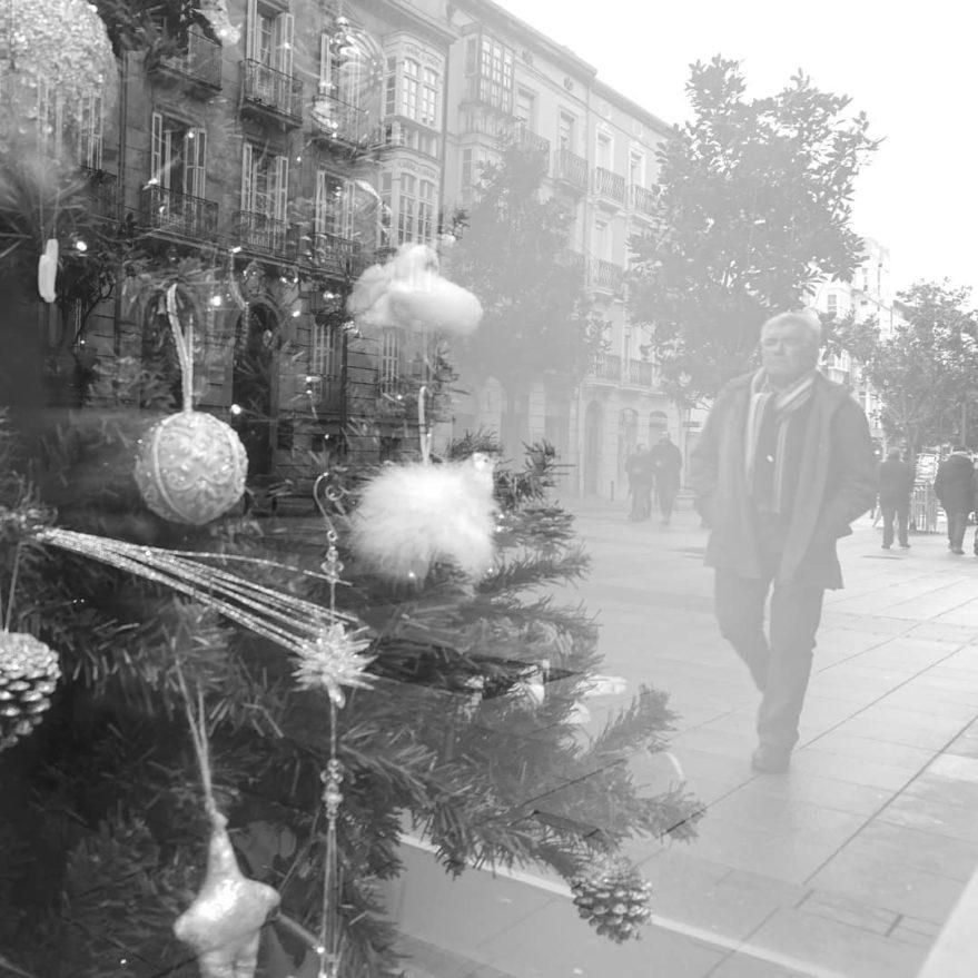 navidad en calle Dato Vitoria