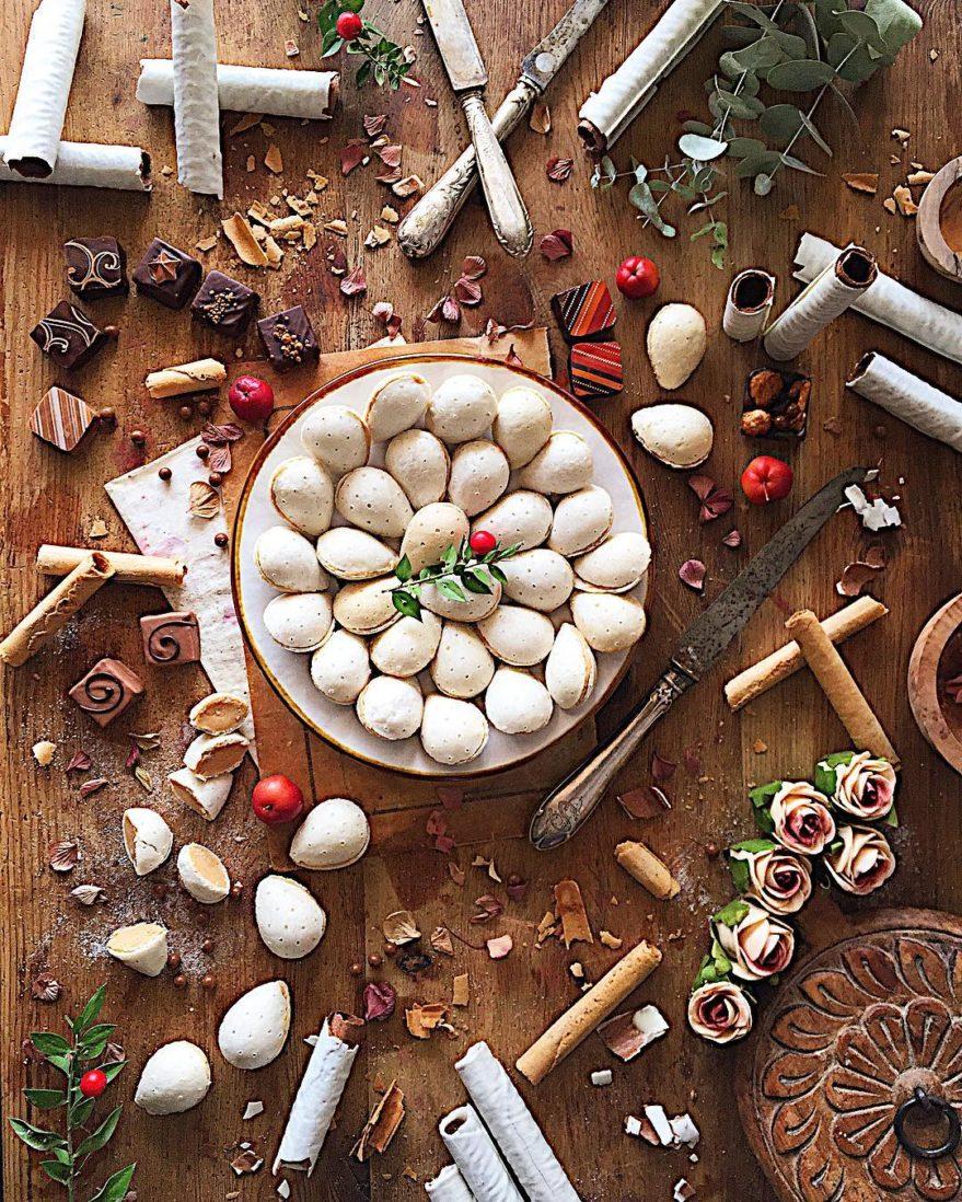 bodegones dulces en Navidad