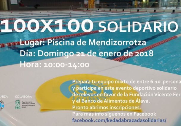 10 kilómetros de brazadas solidarias