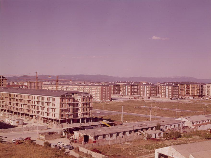 Txagorritxu y al fondo la Avenida Gasteiz en 1970