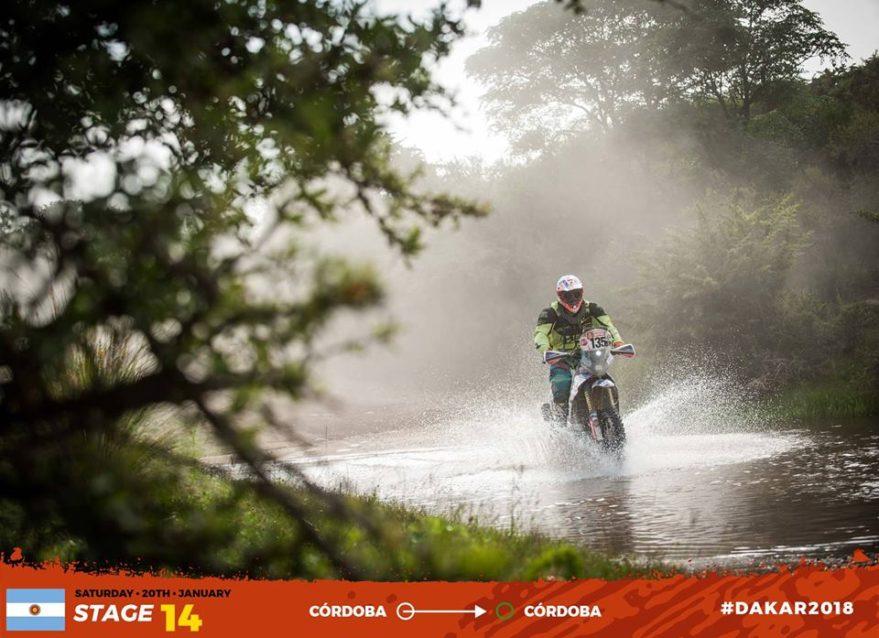 oscar romero fausto mota dakar 2019