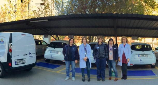 Osakidetza incorpora 12 vehículos eléctricos a su flota