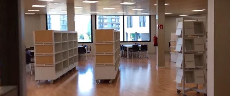bibliotecas salas de estudio
