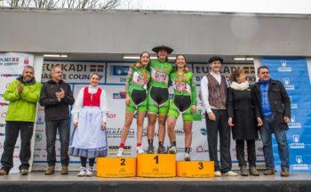 Luisa Ibarrola, campeona nacional de ciclocross sub-23