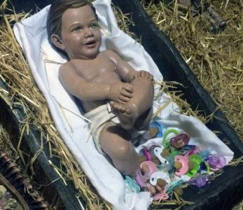 Los chupetes para el niño Jesús en La Florida