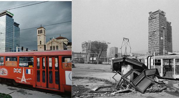 Montehermoso exhibe el resurgir de Sarajevo tras el horror de la guerra