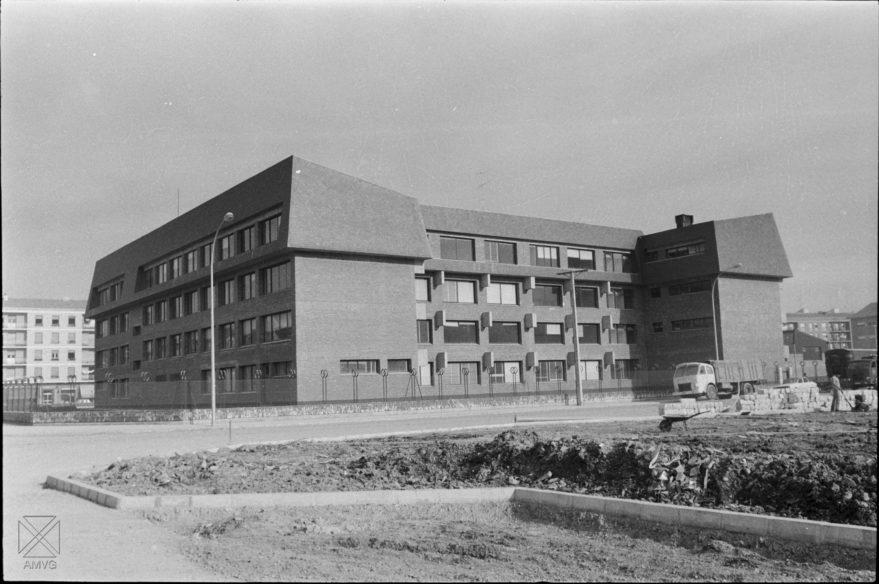 Instituto Francisco de Vitoria en 1973. Archivo Municipal de Vitoria-Gasteiz.