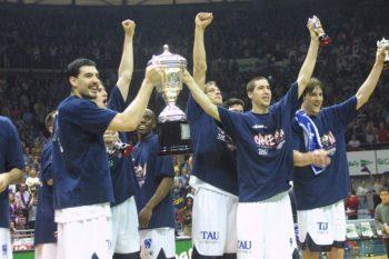 En 2002 Baskonia ganó la Copa en Vitoria