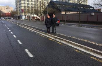 aparcamiento de la guardia civil en sansomendi