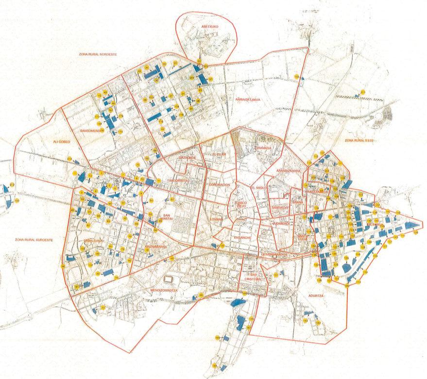 Parcelas sin urbanizar no incluidas en contrato de limpieza