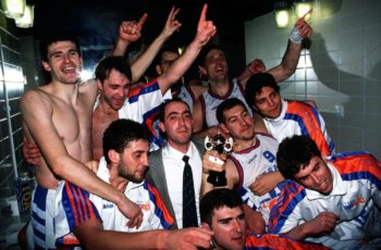 Baskonia ganó su primera copa en 1995