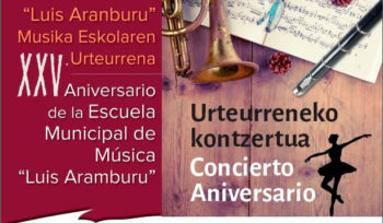 Luis Aramburu celebra dos conciertos por su 25 aniversario