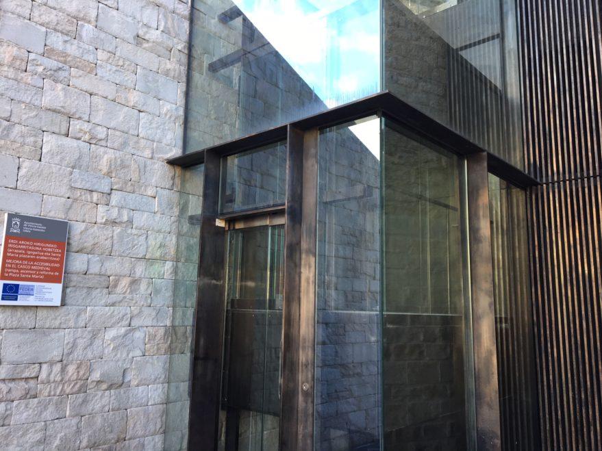 ascensor casco viejo parado vitoria