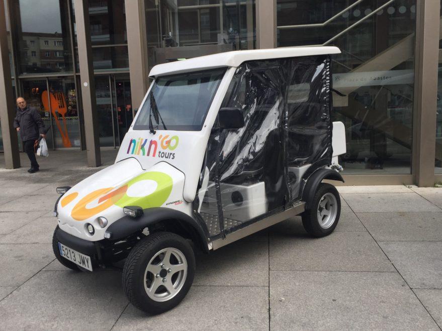 tour coche electrico vitoria