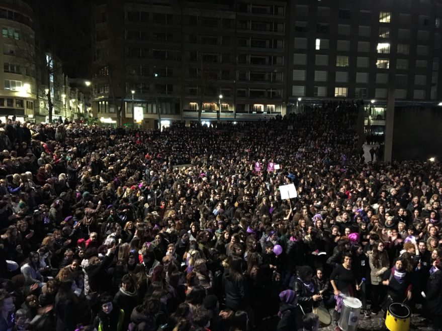 multa movimiento feminista vitoria