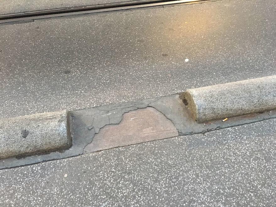 general alava asfalto suelto