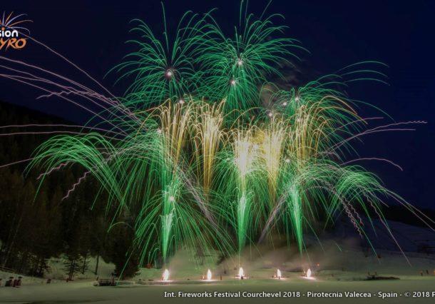 Los fuegos artificiales alaveses triunfan con Star Wars