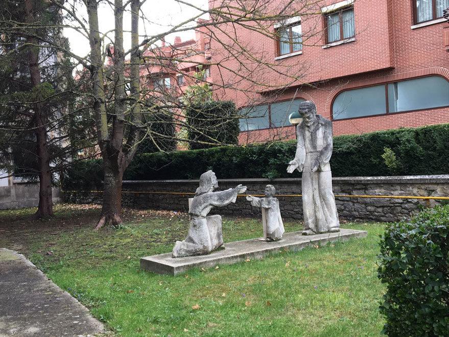 escultura sagrada familia
