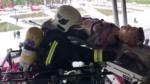simulacro bomberos estacion vitoria