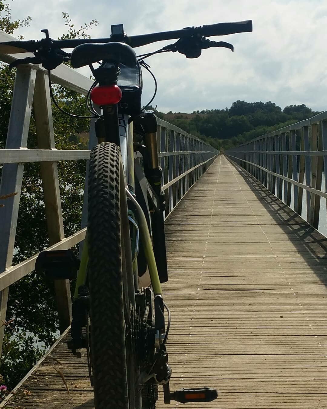 Pantano Vitoria en bici