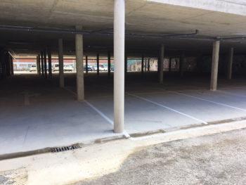 parking silo de arana