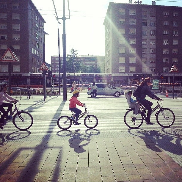 paseo en bici Vitoria