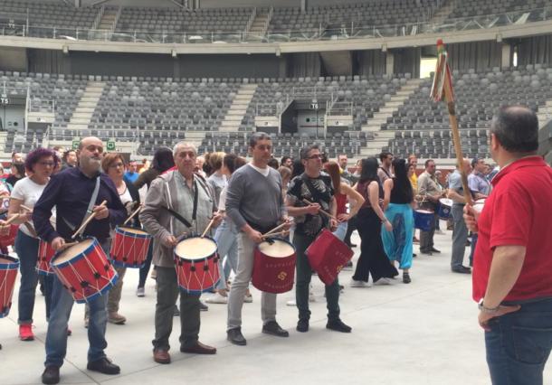 Los tambores ya están listos para San Prudencio