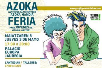 La Feria de Juventud se celebrará el 3 de mayo en el Palacio Europa