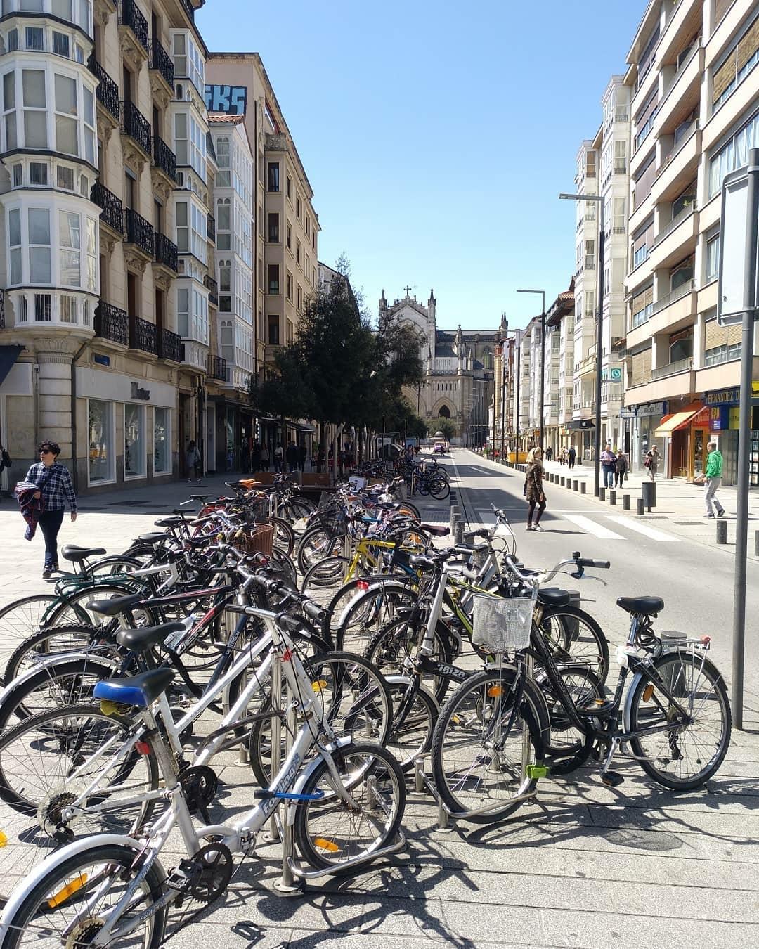 aparcamiento bicicletas Vitoria
