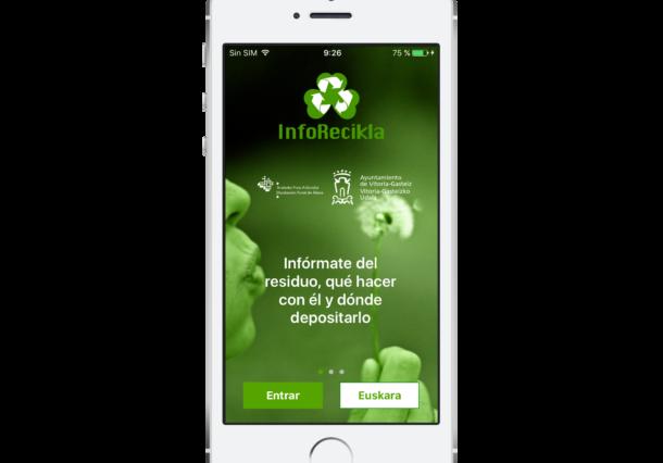 La APP InfoRecikla resuelve tus dudas en la separación de los residuos domésticos