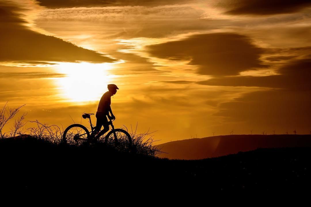 en bici por Álava