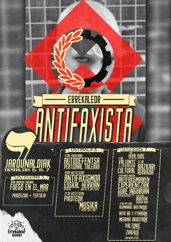 Jornadas Antifascistas de Errekaleor @ Errekaleor
